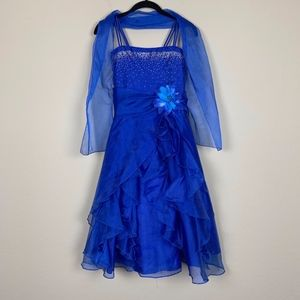 Cinderella Couture | Blue Formal/Prom Dress